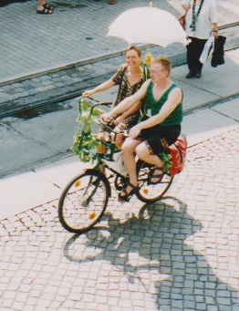 1997 Hochzeitsfahrrad Elbhangfest