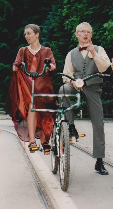 1997 Hochzeitsfahrrad