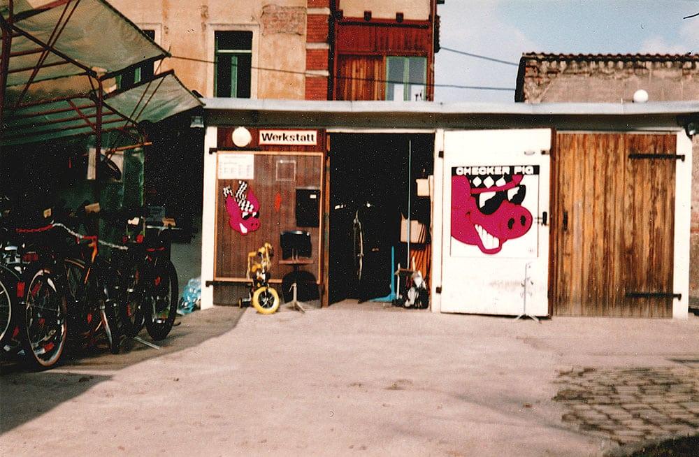Alte Fahrrad Werkstatt Dresden