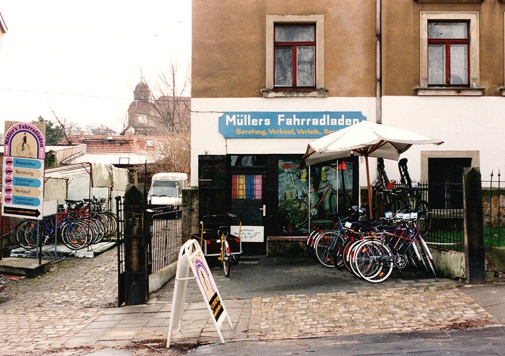Müllers Fahrradladen 1993