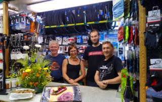 Das Team von Müllers Fahrradladen